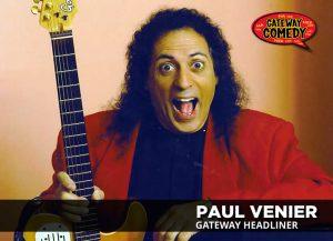 Paul Venier is The Comedy Tornado